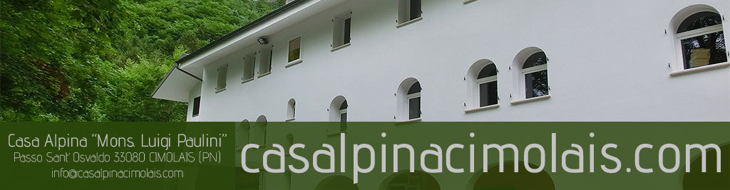 Casa Alpina Mons. Paulini – Cimolais PN